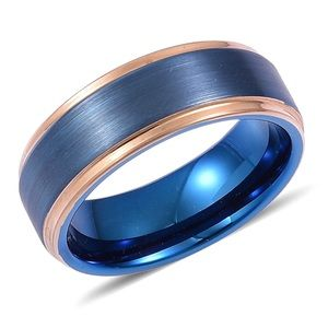 Other - Dualtone Tungsten Carbide Men's Band Ring